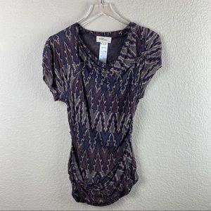 ISABEL MARANT ETOILE Knit Short Sleeve Top Sz 1